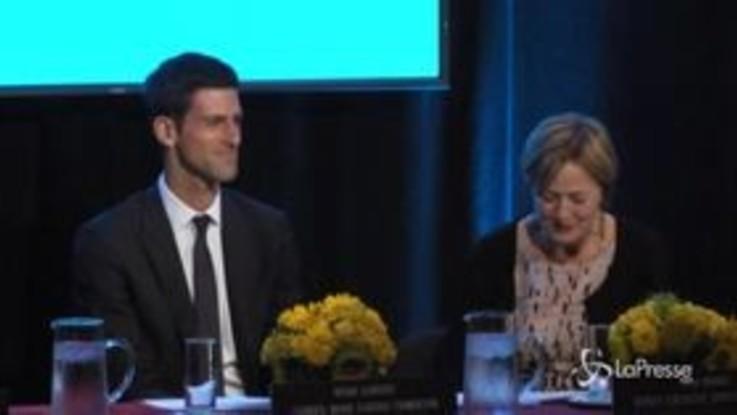 Djokovic dona denaro agli ospedali bergamaschi