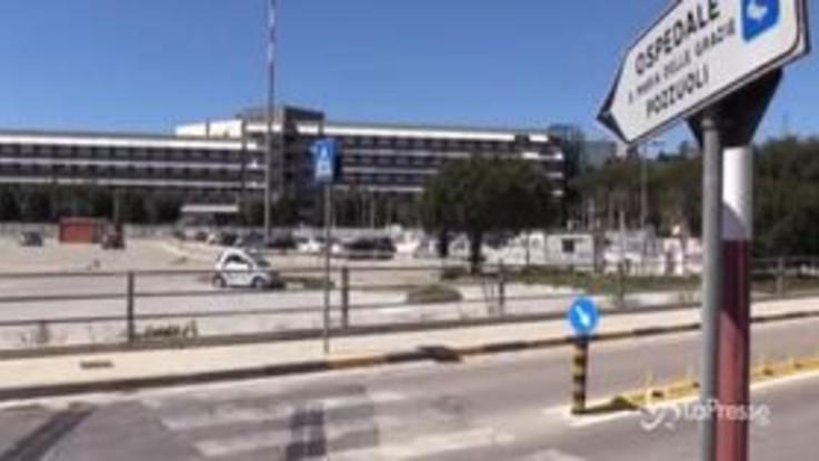 Coronavirus, 23 casi accertati all'ospedale di Pozzuoli: stop a ricoveri e tamponi a tutti i dipendenti