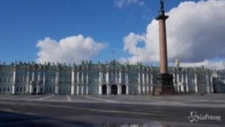 Coronavirus, lockdown in Russia: Mosca e San Pietroburgo città fantasma