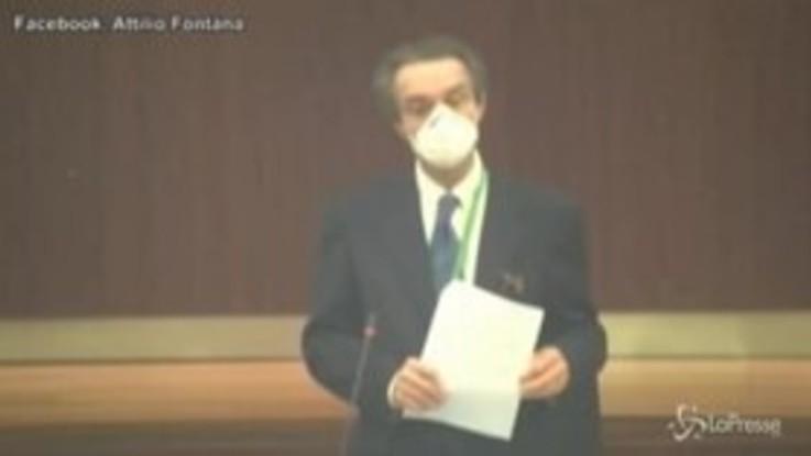 """Coronavirus, Fontana: """"Mi auguro ripartenza graduale dal 4 maggio"""""""