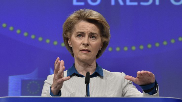 Von der Leyen: Ue presenta scuse sentite all'Italia per i ritardi