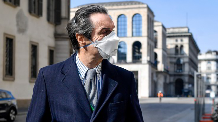 Coronavirus, Fontana: Riapriremo il 4 maggio se la scienza ci darà il via libera