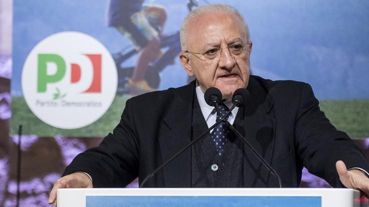 """De Luca: """"Se regioni del Nord riaprono chiudo confini Campania"""""""