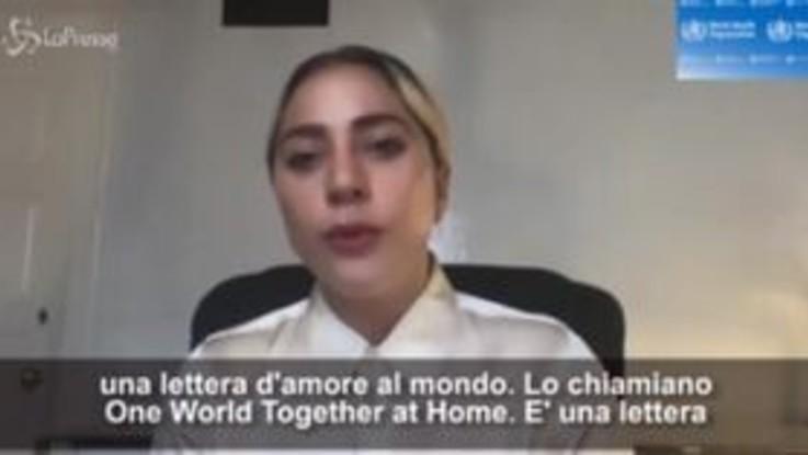 """Coronavirus, il live aid organizzato da Lady Gaga: """"Una lettera d'amore al mondo"""""""