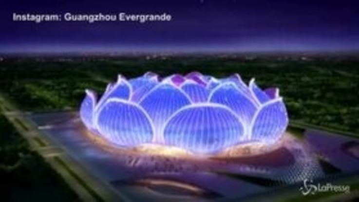 Guangzhou Evergrande, iniziati i lavori del nuovo stadio