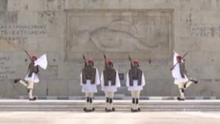 Coronavirus, Atene deserta per la Pasqua ortodossa