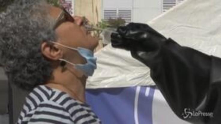 Coronavirus, Israele: tamponi senza contatto con i pazienti