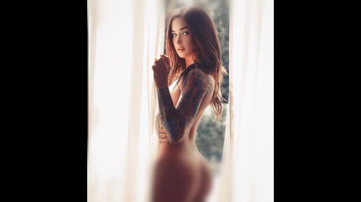 Sexy-Instagram, Jessica Wilde, l'icona sexy del tatuaggio al femminile