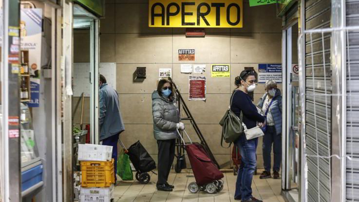 PIL italiano giù del 15% nel primo trimestre