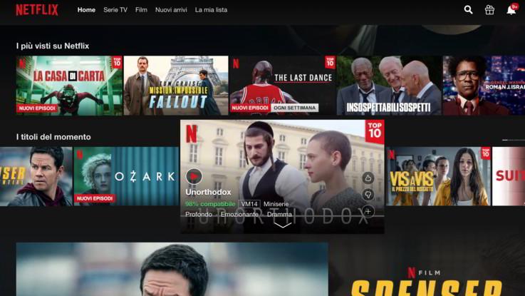 Netflix fa il pieno di iscrizioni: +15,8mln di utenti