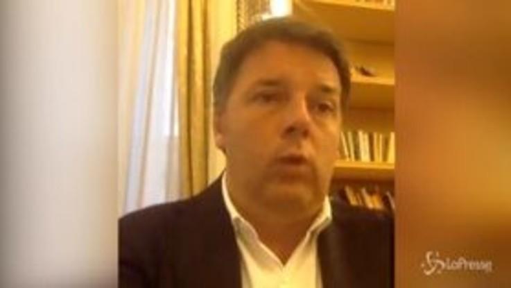 """Coronavirus, Renzi: """"L'Europa ha fatto più in due mesi che in due lustri"""""""