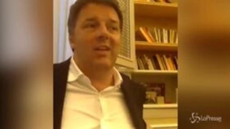 """Mes, Renzi: """"Corrao chi? Utilizzeremo 37 mld e Governo non cadrà"""""""