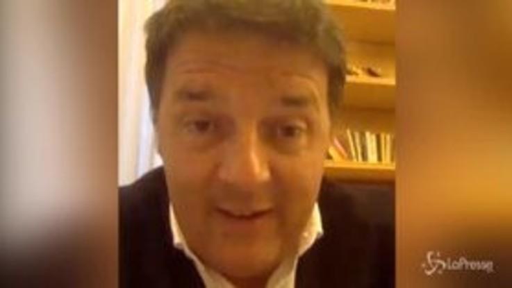 "Coronavirus, Renzi a Conte: ""Riaprite o ci portano via"""