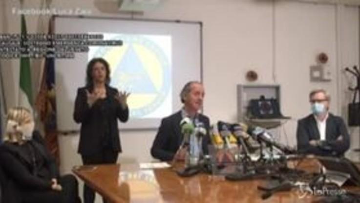 Coronavirus, Zaia firma nuova ordinanza e toglie altre restrizioni