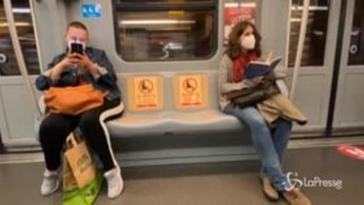 Coronavirus, ecco come si viaggerà sulla metro di Milano nella fase 2 dell'epidemia