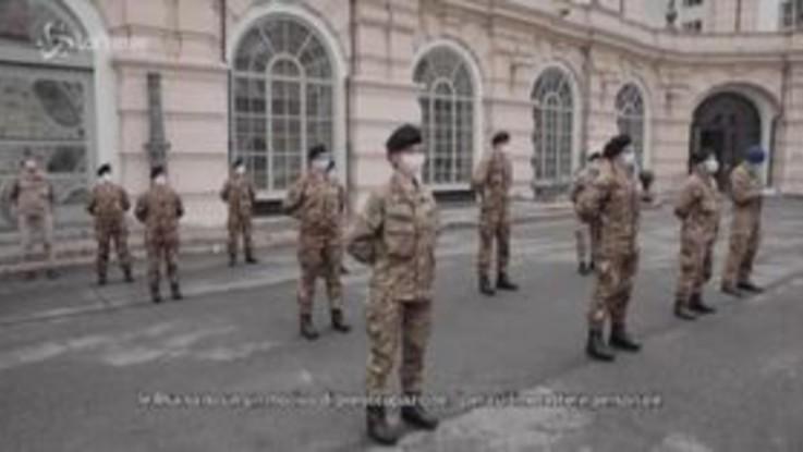 Coronavirus, Regione Piemonte saluta 25 nuovi infermieri militari