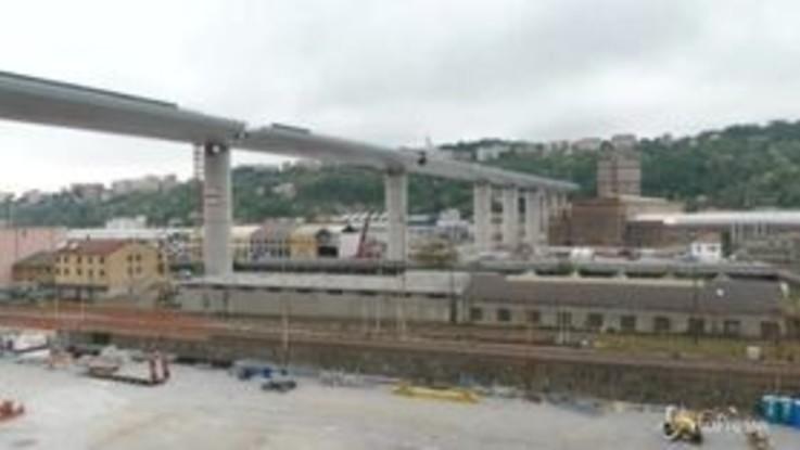 Genova, ultimato il nuovo viadotto
