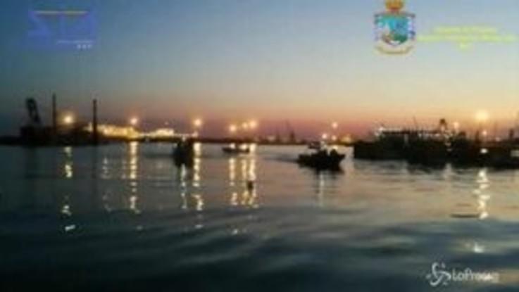 Bari, sequestrata una tonnellata di droga: 2 arresti