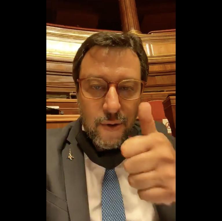 Salvini: in Parlamento notte e giorno per chiedere spiegazioni con fermezza
