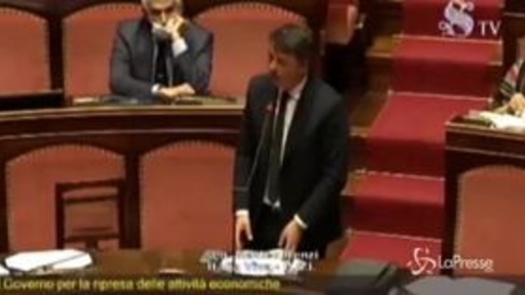 """Renzi al premier Conte: """"Nessuno vuole riaprire tutto, ma ci sia gradualità"""""""