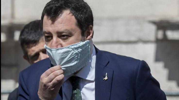 Salvini, l'occupazione a oltranza e la spaccatura nel centrodestra