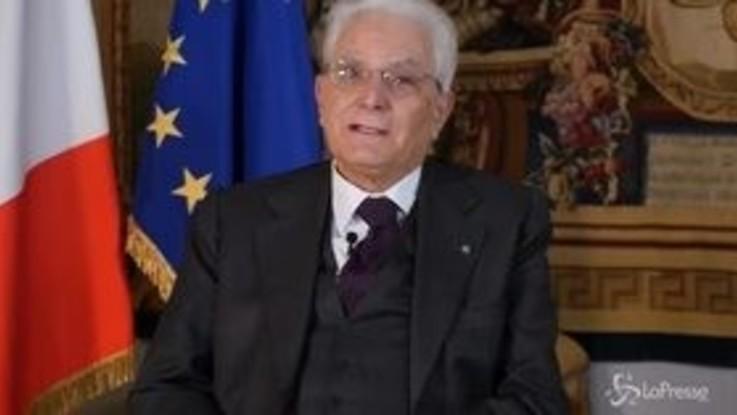 """Primo maggio, Mattarella: """"Fiducia negli italiani, governo dia indicazioni chiare"""""""