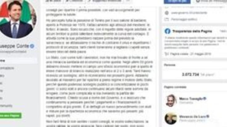 """Coronavirus, Conte agli italiani: """"Scusa per ritardi pagamenti"""""""