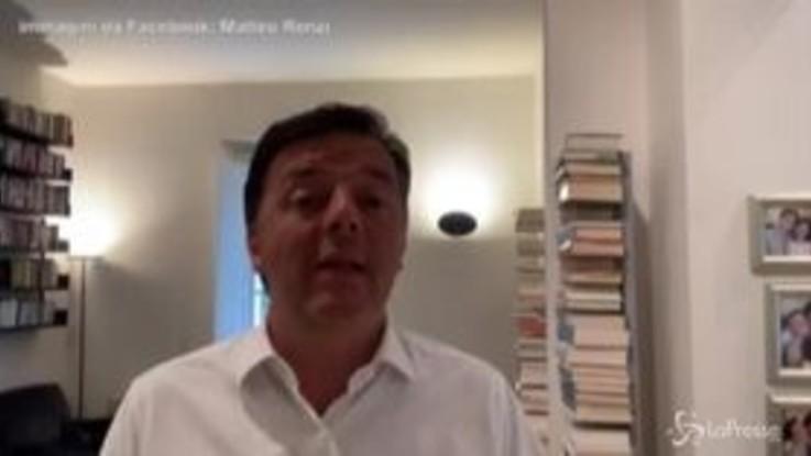 """Renzi e i morti di Bergamo, le scuse su Facebook: """"Strumentalizzate le mi parole"""""""