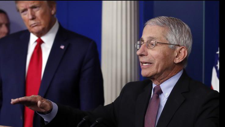 Coronavirus, Trump nega a esperto Fauci audizione alla Camera