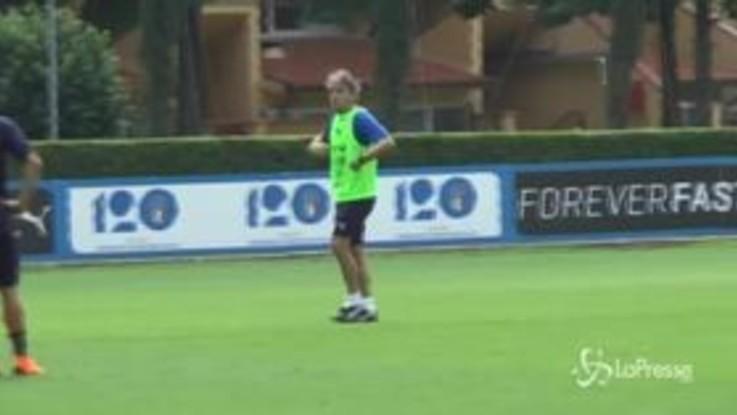 """Mancini ai giovani: """"allenarsi e fare vita da atleta"""""""