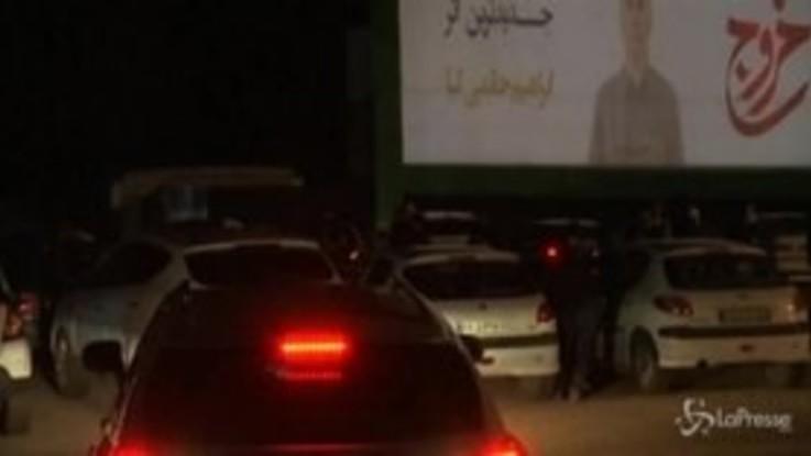 Iran, a Teheran successo per il cinema al drive-in