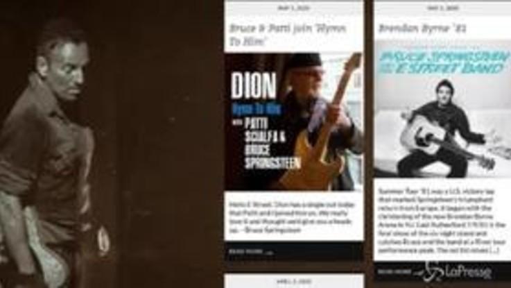 Springsteen, un disco live per il New Jersey