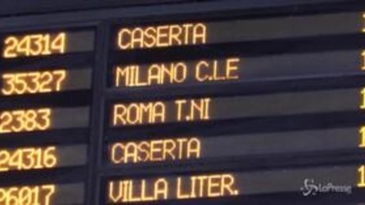 Fase 2, arriva a Napoli il primo Frecciarossa partito da Milano