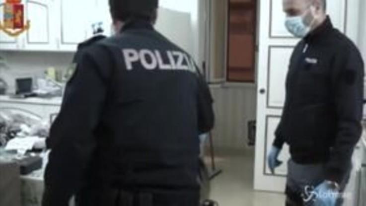 Taranto, blitz anti droga nel 'Fortino dello spaccio'