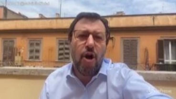 """Coronavirus, Salvini: """"Inps ha smentito fake su Regione Lombardia"""""""