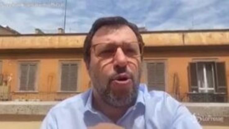 """Carceri, Salvini: """"Bonafede-Di Matteo? Ci sono ombre, non è equivoco"""""""