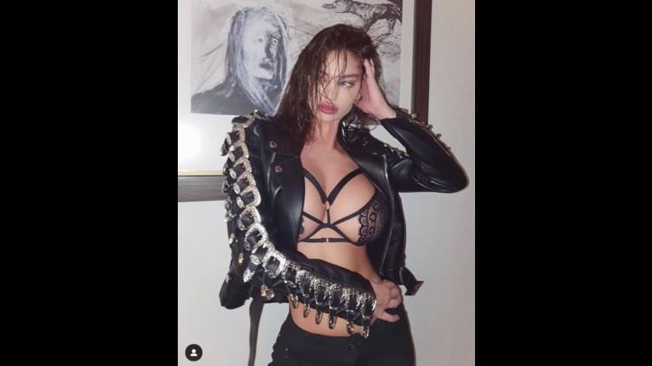Sexy-Instagram, La prorompente ex di Neymar Solaya Vucelic arrestata per violazione del lockdown