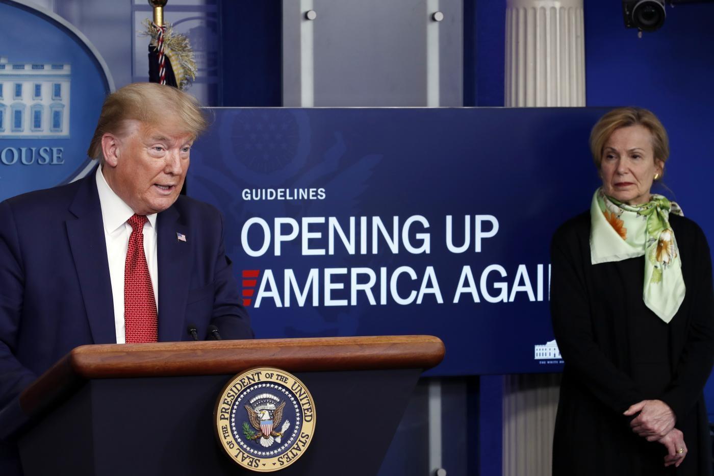 Coronavirus, Trump: peggior attacco della storia agli USA
