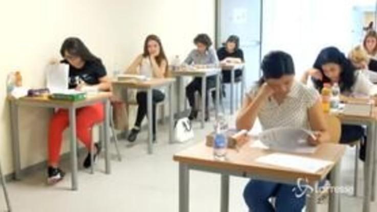 Maturità: studenti tutti ammessi all'esame