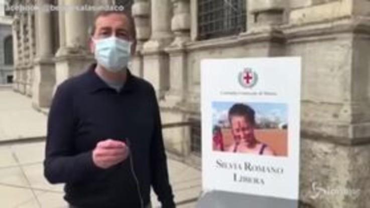 """Beppe Sala: """"Silvia Romano finalmente libera, ora verità per Giulio Regeni"""""""