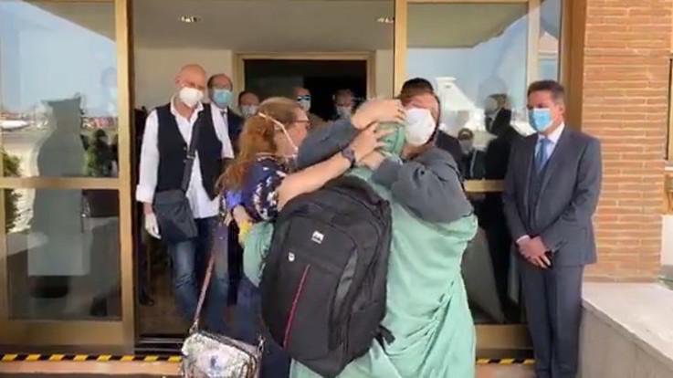 Silvia Romano è in Italia: la giovane atterrata a Ciampino