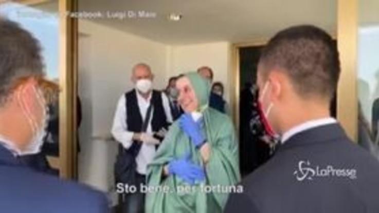 """Silvia Romano in Italia: """"Sto bene, fisicamente e mentalmente"""""""