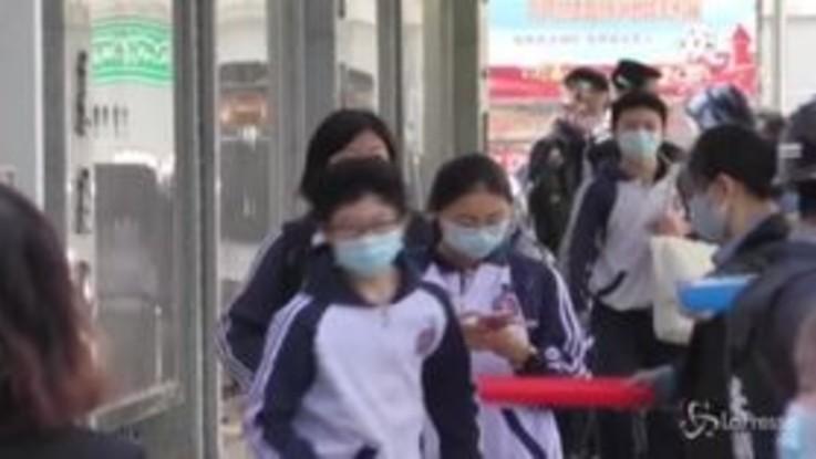 Coronavirus, a Pechino riaprono le scuole