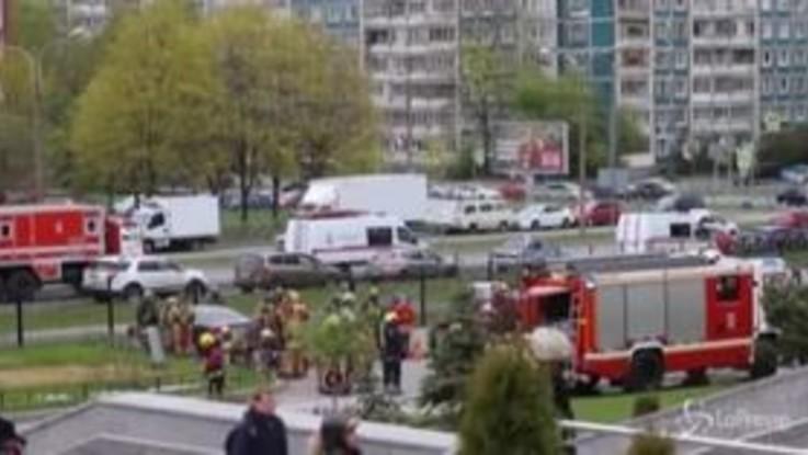 Russia, incendio in ospedale Covid a San Pietroburgo: 5 morti