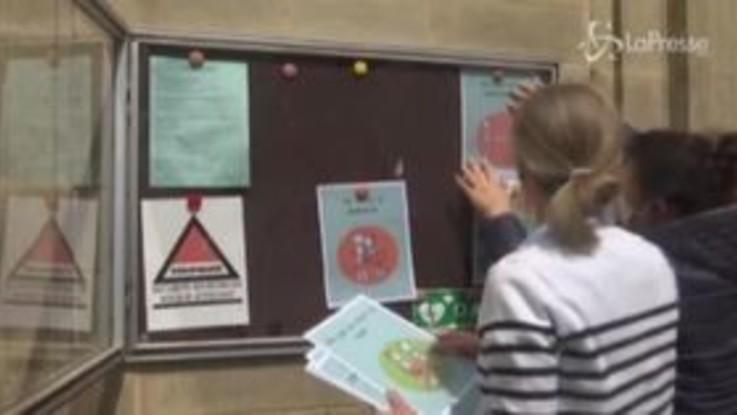 Francia, i bambini riprendono le lezioni in sicurezza