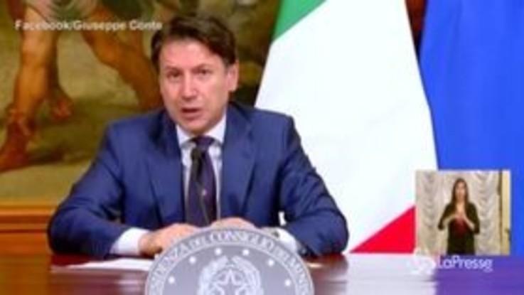 """Dl Rilancio, Conte: """"Pesa 2 manovre, un lavoro incredibile"""""""