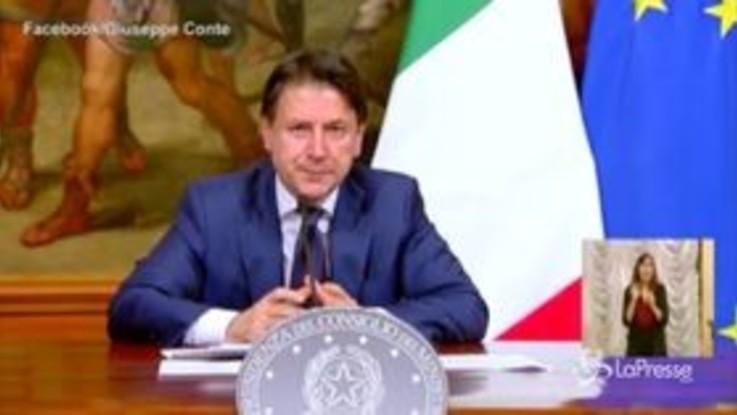 """Dl Rilancio, Conte: """"Su migranti battaglia di civiltà"""""""