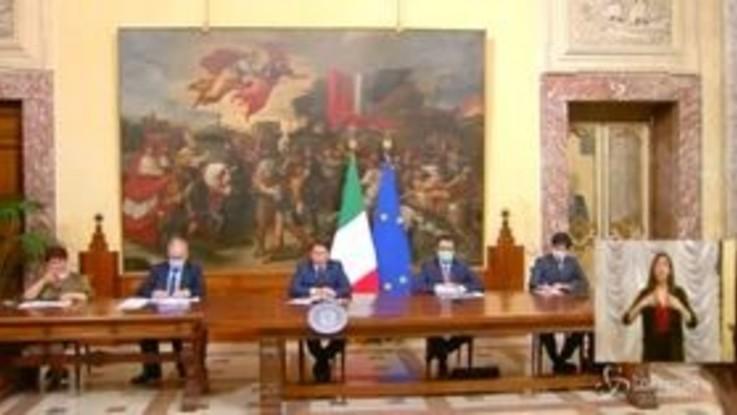 """Decreto Rilancio, Conte: """"Risposto a grido di allarme degli italiani"""""""