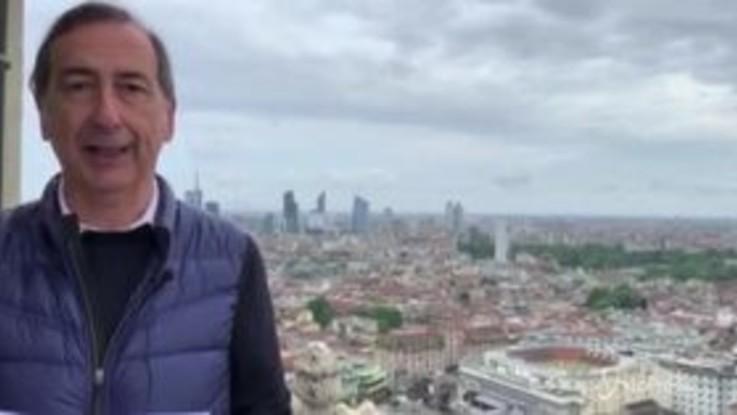 """Fase 2, Beppe Sala: """"C'è una nuova strada da percorrere"""""""