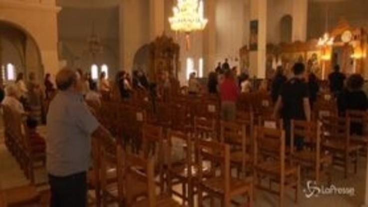 Grecia, riaprono le chiese con misure di sicurezza